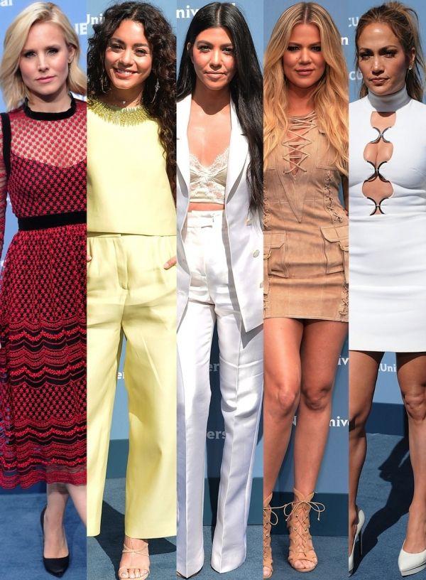 awesome Vanessa Hudgens, Kourtney Kardashian, Jennifer Lopez et plus: 7 looks vedettes du NBCUniversal 2016 Upfronts: Style: Fashion & Style