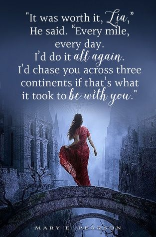 The Heart of Betrayal by Mary E. Pearson - Young Adult, Fantasy, Romance - book quote