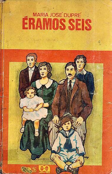 """The book of my life! """"We were six"""" Maria José Dupré, ou Sra. Leandro Dupré como assinava inicialmente seus livros (Botucatu, 1 de maio de 1898 — Guarujá, 15 de maio de 1984) foi uma escritora brasileira, mais conhecida como autora da sua obra-prima, Éramos Seis e pela série de livros infantis sobre o Cachorrinho Samba."""
