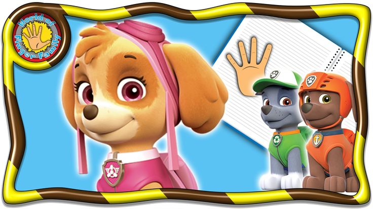 PAW Patrol Skye. PAW Patrol Finger Family 4 Welcome dear friends! I present to your attention a brand new video about seven fingers decorated in a magazine for children. Heroes favorite cartoon literally come to life on the pages of the magazine. In a series of videos designed as a magazine about seven fingers will be presented to the most popular characters of cartoons. In this video take part cartoon characters PAW Patrol Skye. Cheerful family fingers song won the hearts of children and…