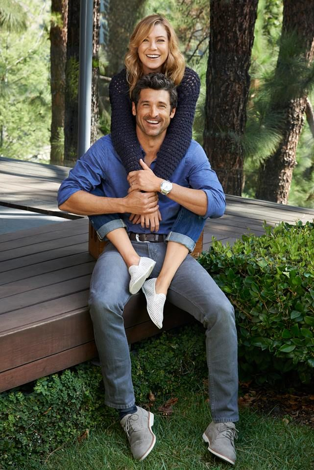 Ellen Pompeo and Patrick Dempsey...one of those tv couples I wish were together in real life!