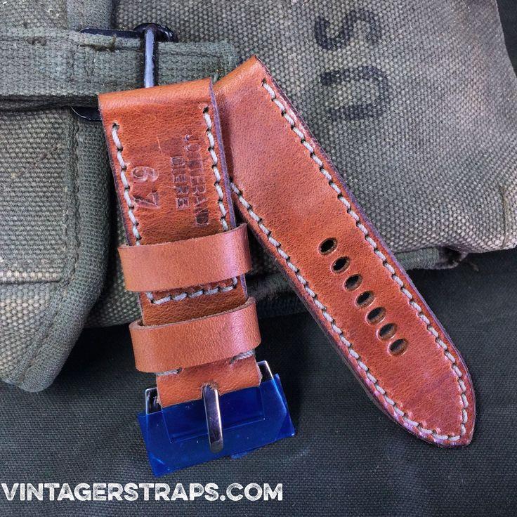 Amazing hand made watch straps, still at rock bottom prices at www.vintagerstraps.com #vintagerstraps #paneraistraps #paneraicentral #handmade #madeintheusa #watchstraps #panerai #paneristi