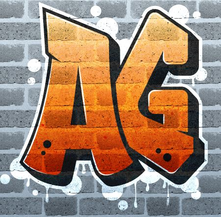 Create graffiti logo on brick wall with Texture in Illustrator - Illustrator Tutorials - Vectorboom