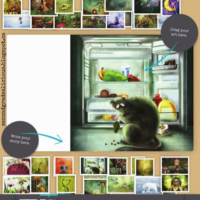 FREE ONLINE RESOURCE~ This website encouraged even reluctant writers to create their own digital story. This blog post does a great job of explaining the pros and cons of this resource, or just go right to storybird dot com and check it out yourself!