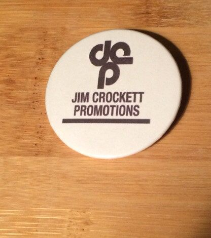 Jim Crockett Promotions 2.25 inch button!