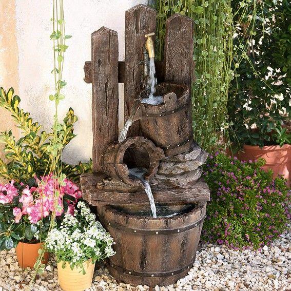 best 25+ wasserspiel selber bauen ideas on pinterest | wasserspiel, Gartengestaltung