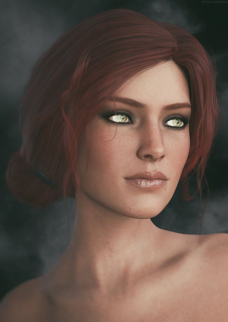 Triss Merigold | The Witcher 3 Fanart by Lehira-Rutherford.deviantart.com on @DeviantArt