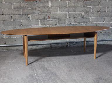 Retro Oval Coffee Table Dimensions Color