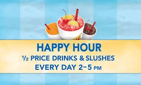 Find out the cheesecake factory happy hour. Click here http://www.happyhourmunch.com/sonic-happy-hour/
