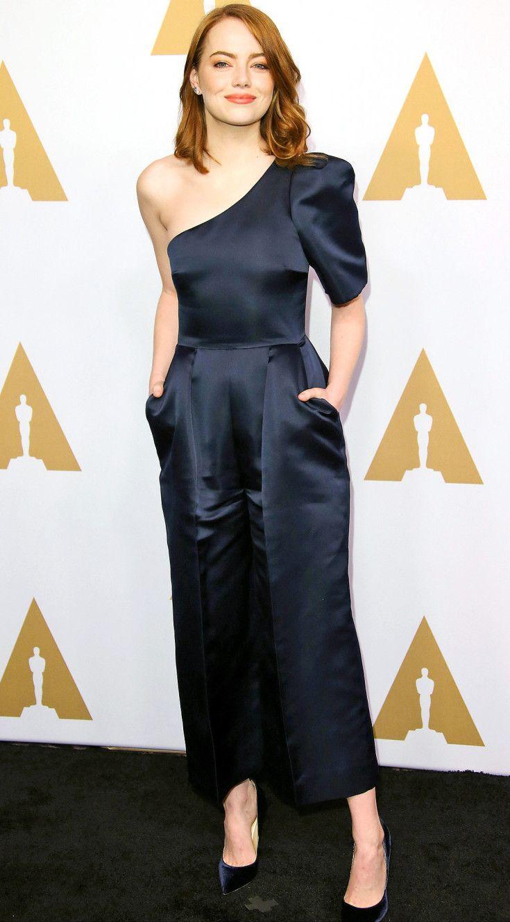 Stella McCartney One Shoulder Jumpsuit