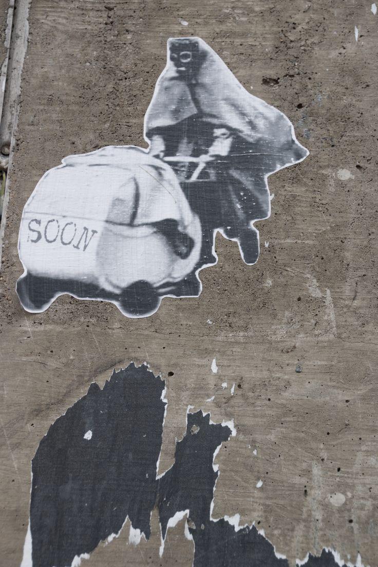 Soon sticker Berlin 2014