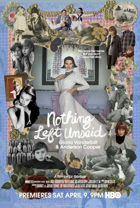 Nothing Left Unsaid: Gloria Vanderbilt & Anderson Cooper (2016)