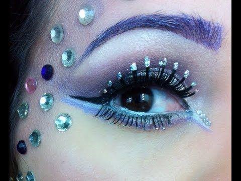 ♡Halloween:Maquillaje De Fantasia / Fairy Fantasy Makeup Ft.glameyez