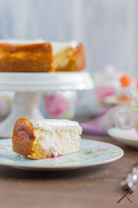 Karotten-Cheesecake für die Ostertafel
