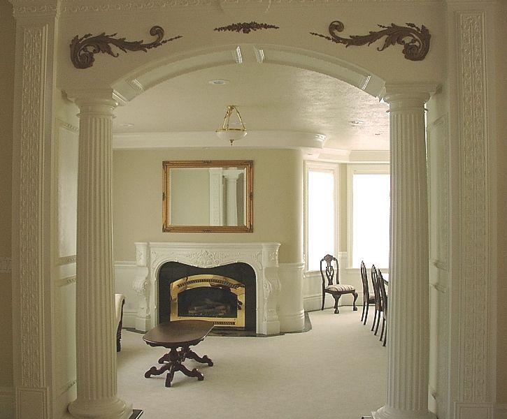 1000 images about kitchen on pinterest kitchen dining - Interior columns design ideas ...