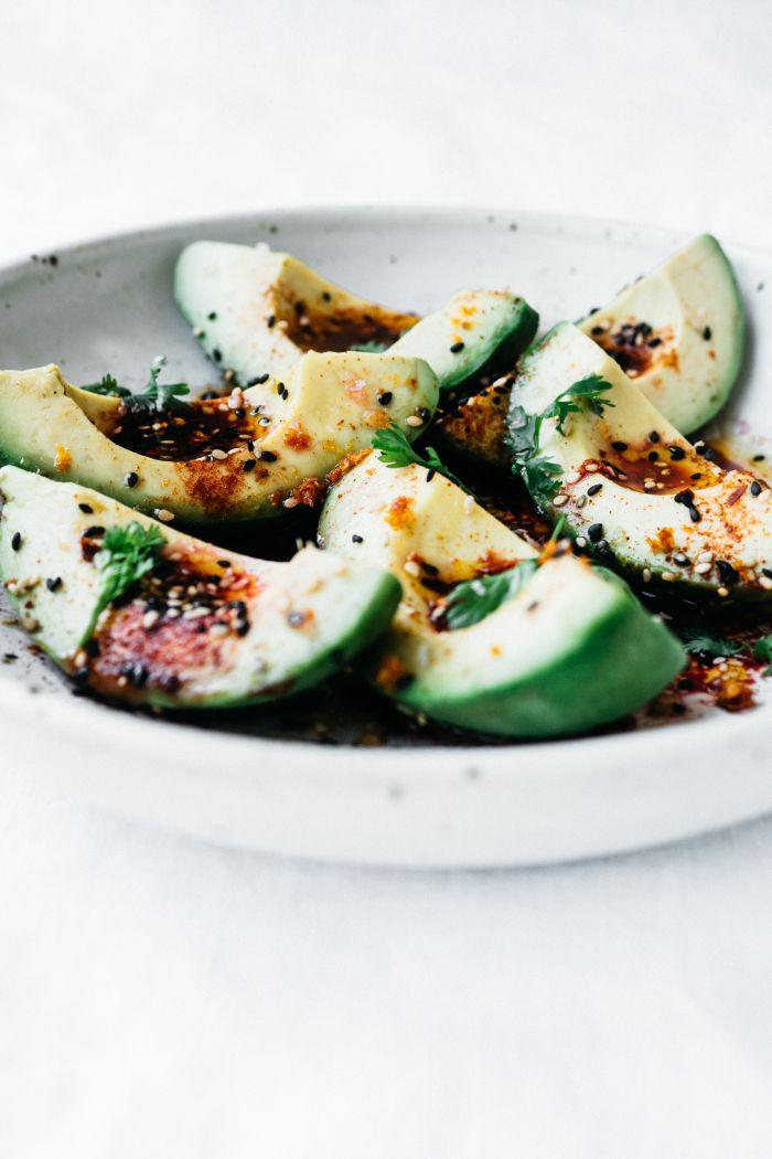 A Simple Avocado Salad | TENDING the TABLE