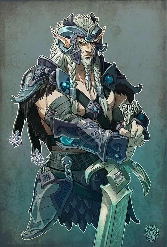 Snow elf hero by ~gugu-troll on deviantART