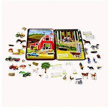T.S. Shure Farm Magnetic Tin Play Set / 12