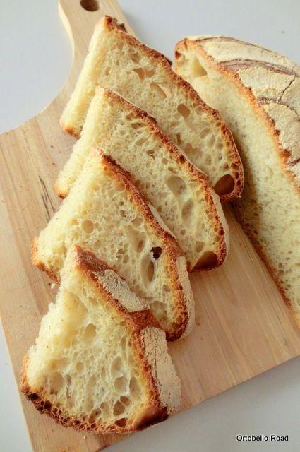 Pan di Pane: Pane di semola rimacinata di grano duro, con prefermento.