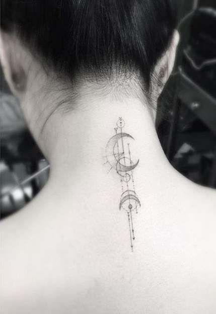 54 Ideas Tattoo Women 's Neck Compass für das Jahr 2019   – °○tattoO○°