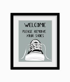 shoes off signs on Pinterest | Remove Shoes Sign, No Shoes Sign ...
