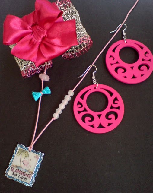 Wire Crochet with ribbons