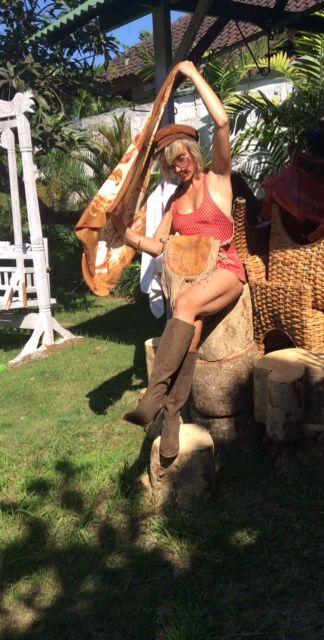 Shelley wearing Honour Rose Bag and St Moritz Boots by Jodilee......bohemian summer days.... www.jodilee.com.au Facebook: JodiLee Instagram jodileedesigns