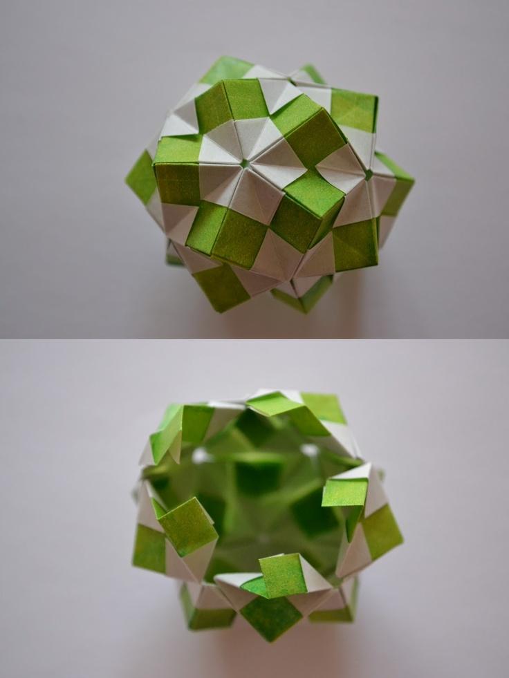 1000+ images about kusudama on Pinterest | Modular Origami, Origami ...