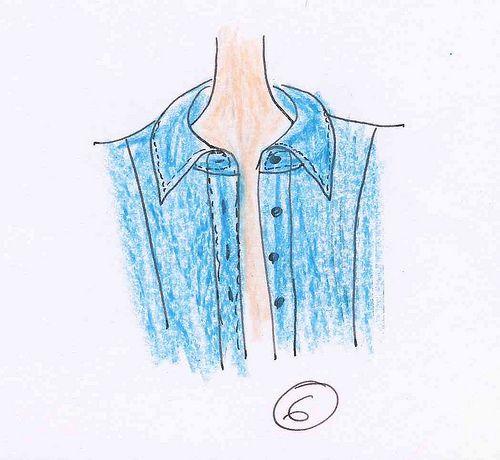 Comment monter un col chemise …