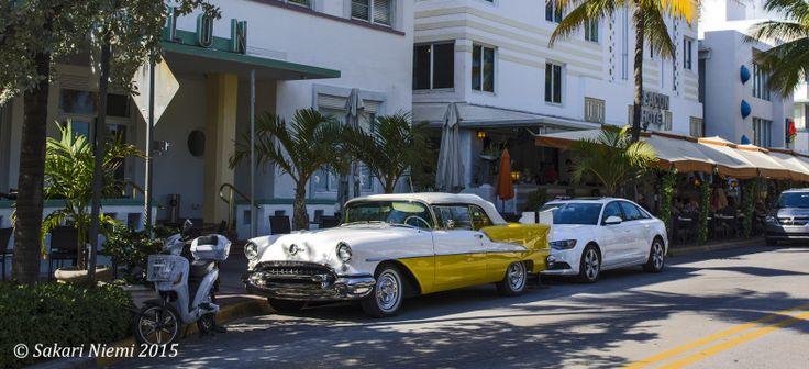 US_150225 Yhdysvallat_0314 Miami Beachin Ocean Driven art deco-hotelleja