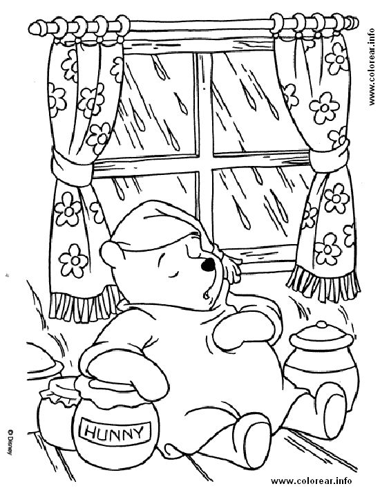 chicago wolves coloring | Pooh Bear Coloring Pages Free