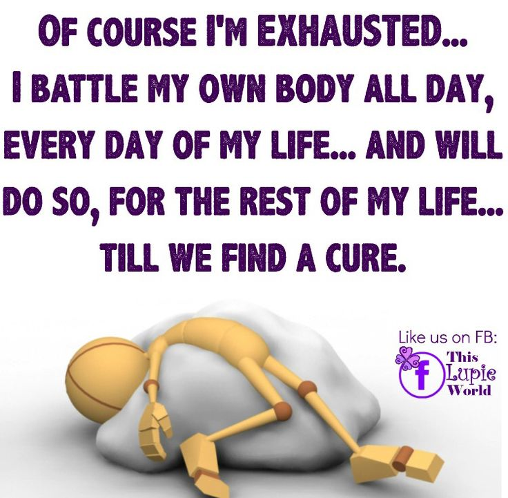 It's the truth. This disease will not get the best of me.