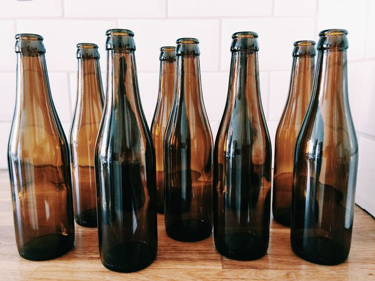 home brewing necessity: empty beer bottles | two chicks brewing
