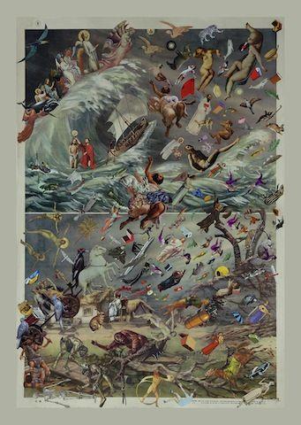 Mauricio Garrido, Chile, La Tempestad, Impresión Giclée sobre papel fotográfico, 62 x 90 cm