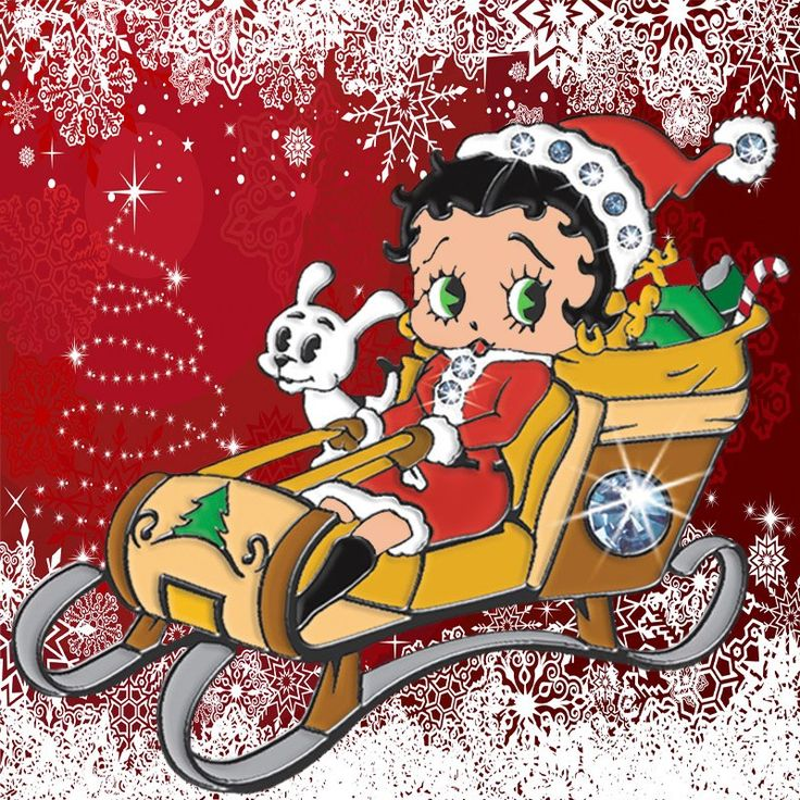 106 best betty boop images on pinterest betty boop betty boop pictures and cartoon - Betty boop noel ...