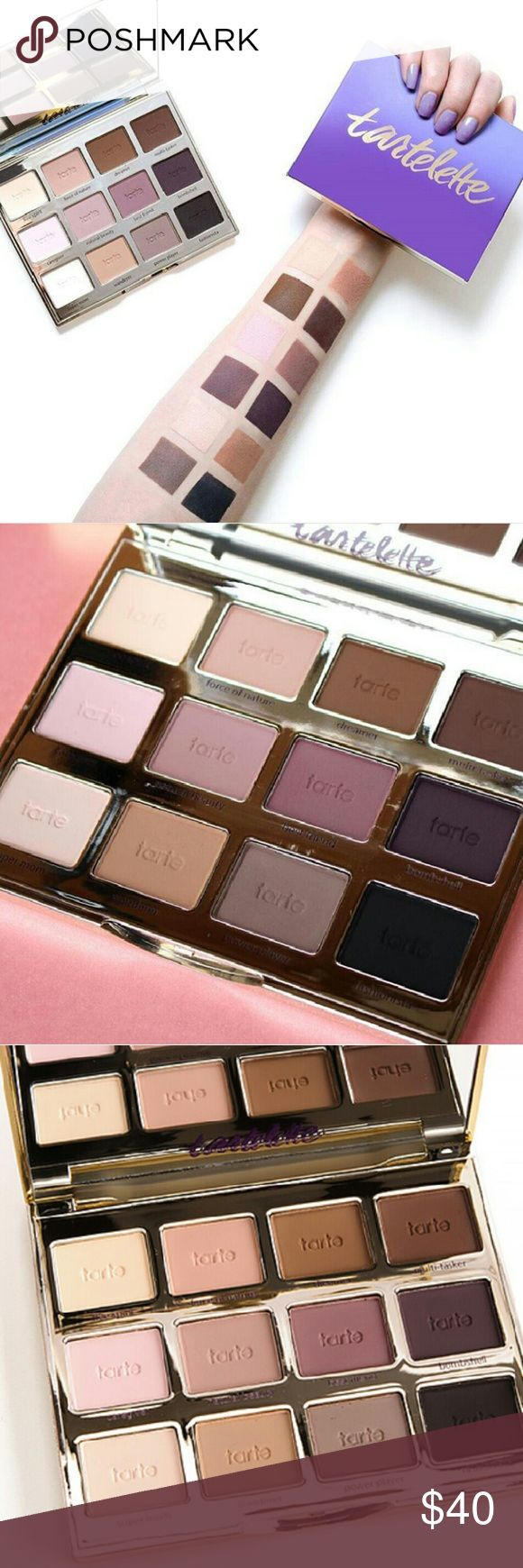 Tart pallet What it is:? An all-matte palette with 12 exclusive eye shadows.?  What it does:? By popular demand, tarte is introducing an all-matte shadow palette featuring 12 never-before-seen shades to inspire, celebrate, and empower real women. As beautifully diverse as the brand?s loyal fans, this sleek, statement palette features tarte?s signature Amazonian clay-infused, long-wear eye shadows in a mix of liner, lid, and crease shadow shades. The palette also includes a step-by-step guide…
