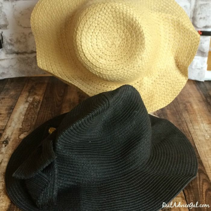 How To Reshape A Straw Hat