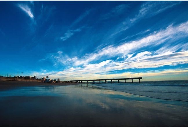 Port Elizabeth: A Panoramic view  Yes! I am going to South Africa!