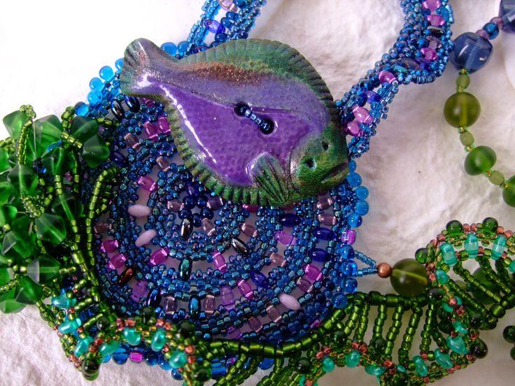 Phantasm Creations: Flounder Challenge Necklace