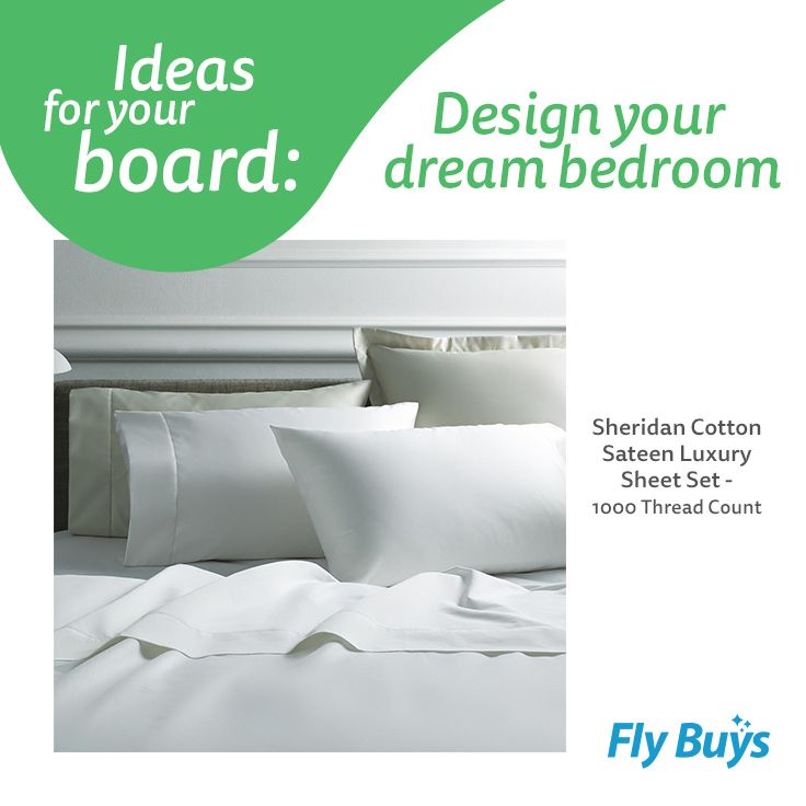 Sheridan Cotton Sateen Luxury Sheet Set - 100 Thread Count  #1600pts #flybuysnz