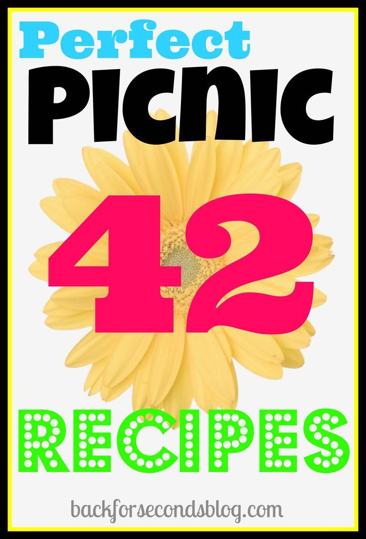 Perfect Picnic Recipes - http://backforsecondsblog.com  #recipes #picnic #camping