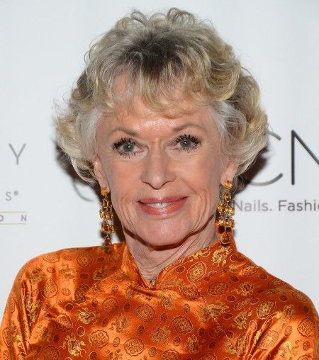 CND And Beauty Changes Lives Honor American Actress & Philanthropist Tippi Hedren With The Legacy Of Style Award (Tippi is known as the Godmother of Vietnamese-American nail salon industry -- and mother of Melanie Griffith.)