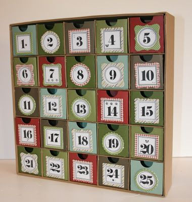 Advent: Make or buy and advent calendar.