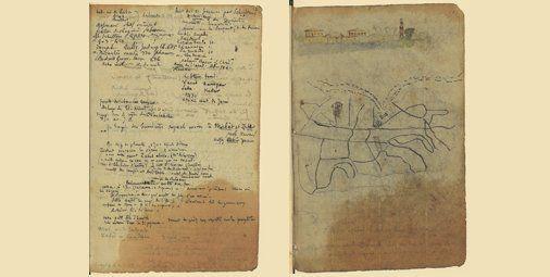 Gerard De Nerval Carnets De Voyage En Orient Pendant Le Sejour Du Poete Au Caire En 1843 Source Bnf Carnets De Voyage Voyage En Orient Le Caire