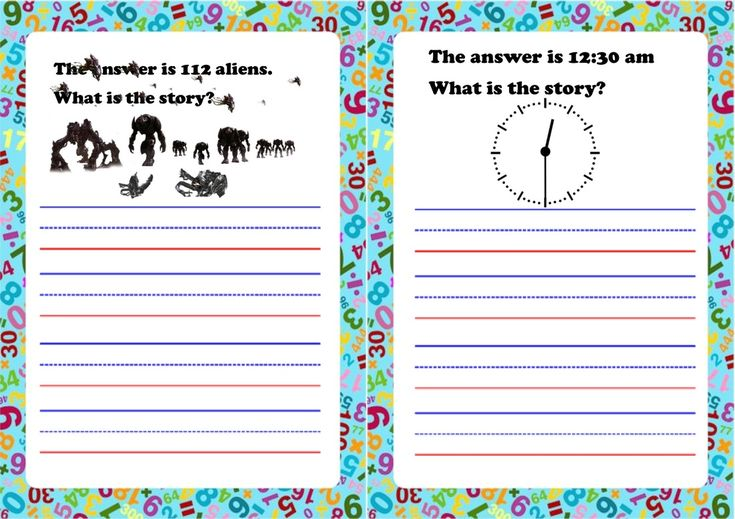 Maths stories KS2