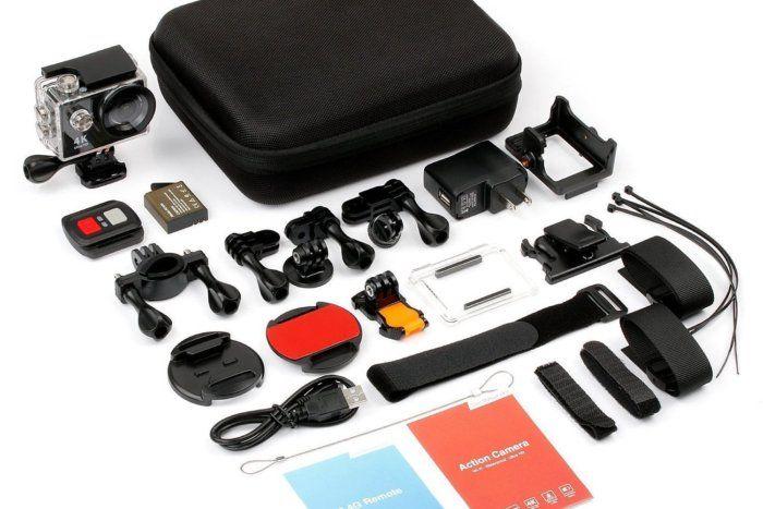 37% off Fitfort 4K WiFi Ultra HD Waterproof Sport Camera - Deal Alert