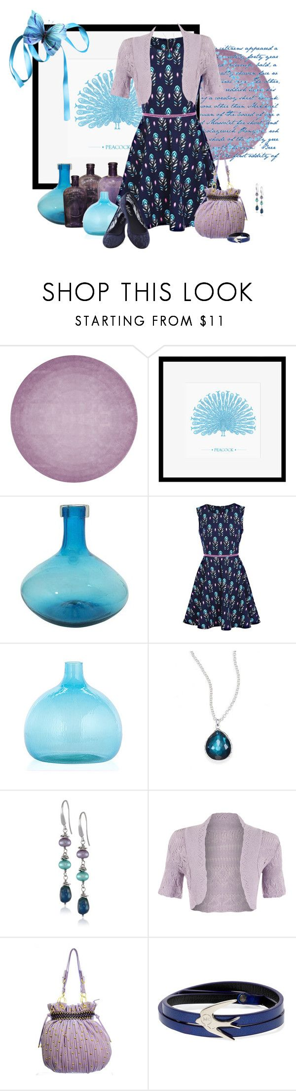 """""""Untitled #343"""" by jessy-james83 ❤ liked on Polyvore featuring By Second Studio, Eleanor Stuart, NOVICA, Ippolita, Honora, WearAll, UpscaleKitten and McQ by Alexander McQueen"""