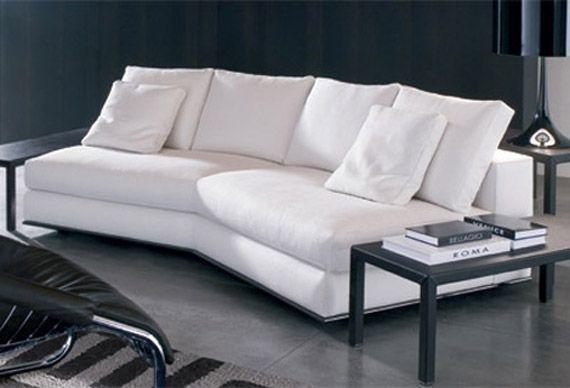 Hamilton Sofa Modular From Natuzzi 135 Degree Angle Sofa