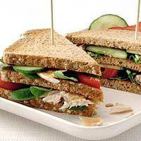 Recept - Sandwiches met makreel - Allerhande