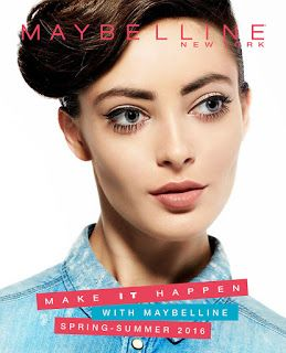 Maybelline Lookbook Spring – Summer 2016
